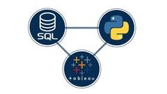 Python + SQL + Tableau: Integrating Python, SQL, and Tableau - Udemy Coupon