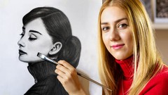 Masterclass of Realistic Drawing and Shading Human Features - Udemy Coupon