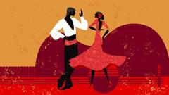 Curso Bailar flamenco por tangos - Coreografía baile completo