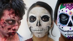 Imágen de Curso maquillaje para Halloween, día de muertos y disfraces