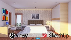 The Complete Sketchup & Vray Course for Interior Design - Udemy Coupon