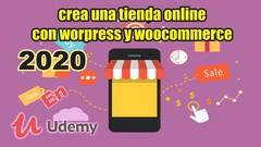 Imágen de Crear una tienda online  con worpress y woocommerce 2020