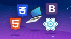 Full Web Development Course - HTML, CSS, Bootstrap and React