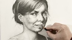 The Beauty of Portrait Drawing - The 3/4 View