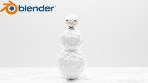 Free udemy coupon Learn to make 3d character in blender(snowman)