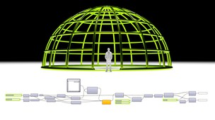 Free udemy coupon Grasshopper & Rhino Architectural Wireframe Dome