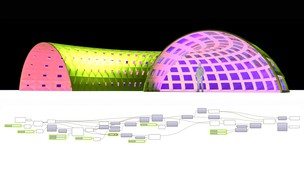 Free udemy coupon Grasshopper & Rhino Architectural Structure Curve Attractor