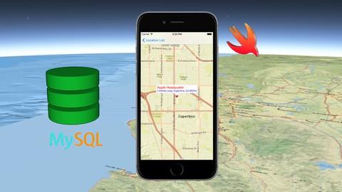Utilize MySQL Data for GIS iOS App in Swift