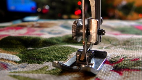 Learn to sew with a sewing machine
