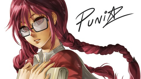 How to draw professional manga artwork by Punix