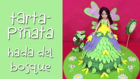 Netcurso-tarta-pinata-hada-del-bosque