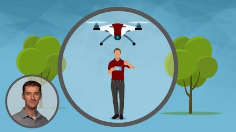 Підготовка до дистанційного пілотного випробовування UAS / Drone до частини 107