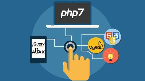 Desarrollo de sistemas web en PHP 7 POO, MySQL, Jquery Ajax#