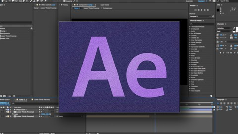 After Effects CC: Animating Text Titles For Beginners