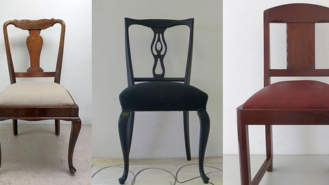 Modern Upholstery Fundamentals: Reupholster diningroom chairs