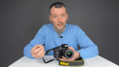 Photography - The Nikon D3400 DSLR Camera user course