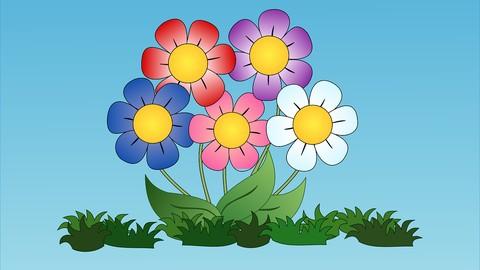 Curso de modelado de plastilina - Flores-