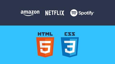 Netcurso-learn-html-css-clone-amazon-netflix-spotify