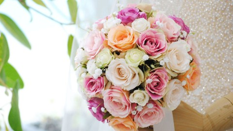 Netcurso-//netcurso.net/ja/bellrose-wedding-bouquet-lesson1