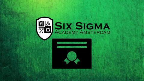 Certified Six Sigma Green Belt (+ Excel Application)*