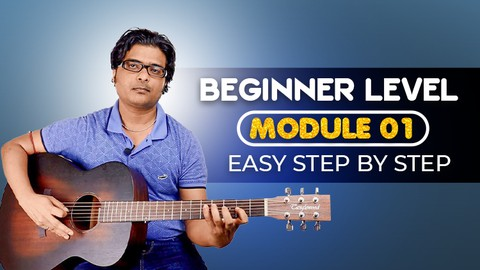 Absolute Beginner Guitar Lesson Easy Step By Step - Module 1 - Resonance School of Music