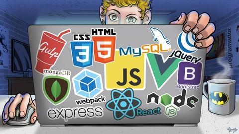 Image for course Curso Web Moderno Completo com JavaScript 2020 + Projetos