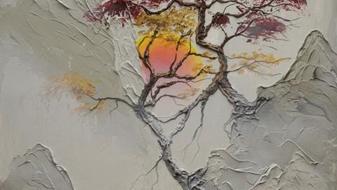 Netcurso-the-joy-of-acrylic-painting-morning-sunrise