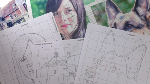 How To Free Hand Draw with Square Drawing Grids