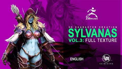 Netcurso-master-3d-create-sylvanas-vol3-texture