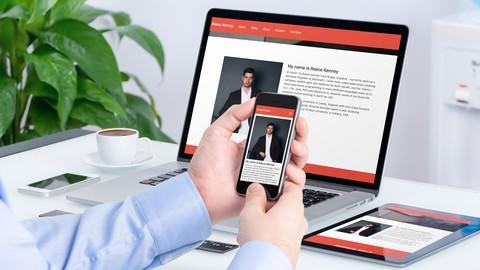 Make a Responsive Portfolio Website: JavaScript and HTML