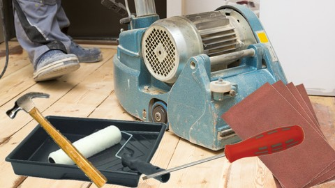 How to Sand Your Wood Floors Easy (Master Class) Sanding 101