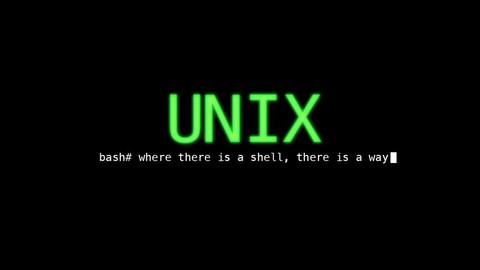 Unix and Bashscript for beginners