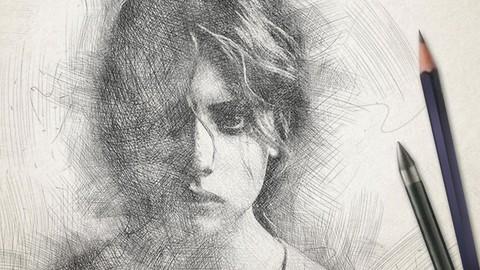 Cómo dibujar Retratos - Dibujo artístico y pintura*