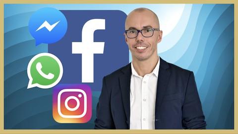Image for course Facebook Ads, Instagram Ads & Messenger Ads MEGA Course 2021