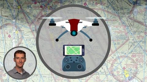 Повітряний простір та діаграми для частини 107 дистанційних пілотів безпілотних літаків UAS