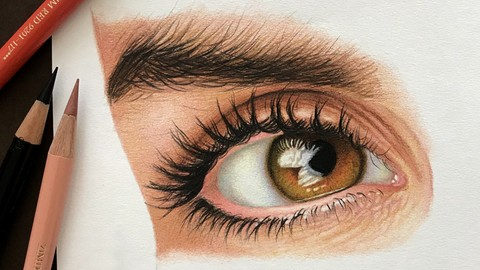 The Complete Drawing Course: Colored Pencil Drawing Art