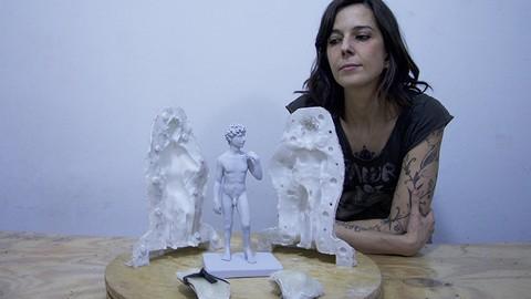 Curso de Moldes de silicon y replica de la figura humana