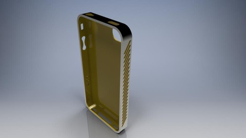 Learn Solidworks on Iphone 4 Case Example