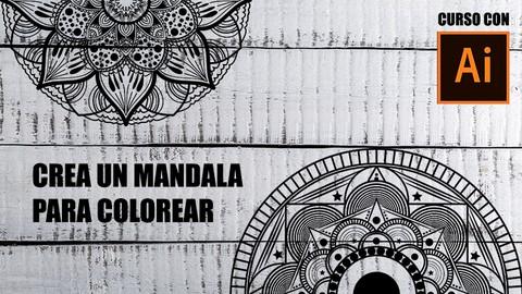 Netcurso-crea-mandalas-para-colorear-con-adobe-illustrator