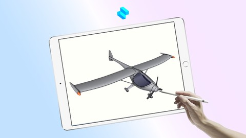 Netcurso-learn-3d-modeling-shapr3d-airplane-design-course