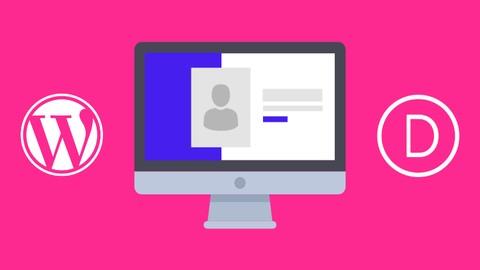 Diseña tu portafolio web con WordPress y Divi#
