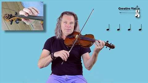 Creative Violin, The New Violin Method 1: Lessons 3, 4 and 5 - Resonance School of Music