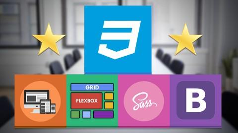 Master en CSS: Responsive, SASS, Flexbox, Grid y Bootstrap 4