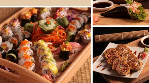 Sushi profesional hecho en tu casa