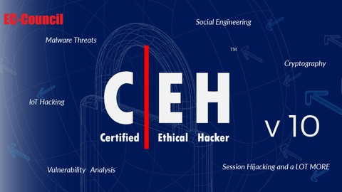 Certified Ethical Hacker CEH V10 Practice Exams - 500 Q's