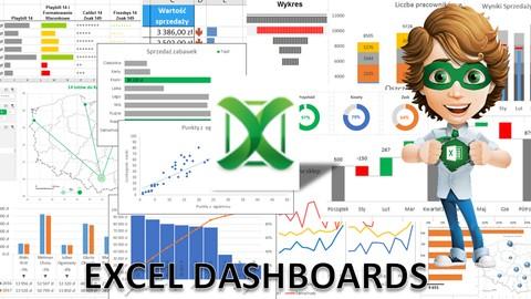 Excel Dashboard (Panele Menedżerskie)
