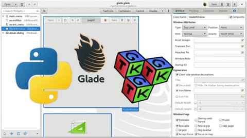 Interface Gráfica para Apps Python com GTK e Glade