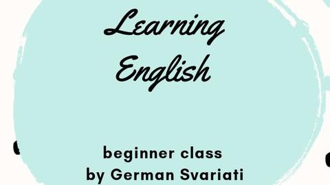 Curso de Inglés con German Svariati! (Beginner)