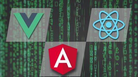 Netcurso-multilanguage-site-using-angular-react-vue-and-python