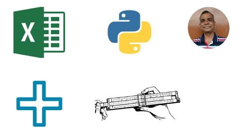 Learn Core Python, Numpy and Pandas